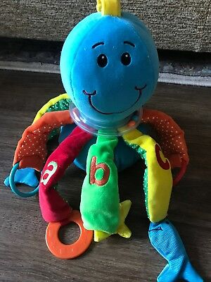 Mothercare Octopus Sound/Sensory Toy