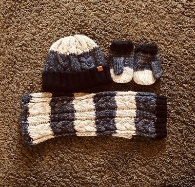 Boys Next Hat Gloves And Scarf 1-2 Years