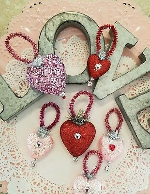 Valentine S Day Ornaments Set Of Four St Valentine Shatterproof