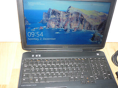 Dell Latitude E5530 i5 Notebook Windows 10 Pro Multilinguales 8GB RAM 500GB HD