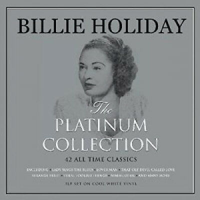 BILLIE HOLIDAY Platinum Collection TRIPLE LP VINYL Europe Not Now 2017 42 Track