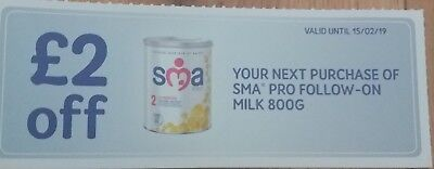 Sma Pro Follow On Milk 800G Coupon