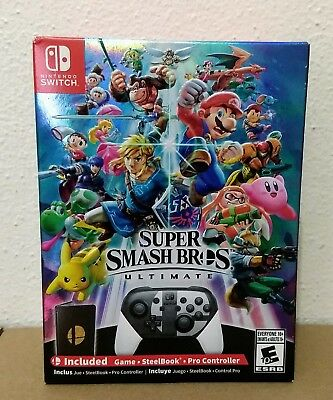 Super Smash Bros. Ultimate Special Edition Nintendo Switch BRAND NEW