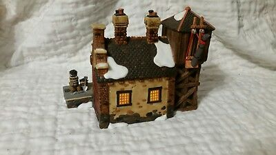 Dept 56 Dickens Village -The Locomotive Shed & Water Tower