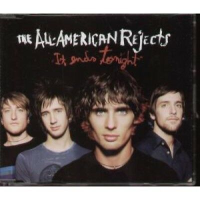 ALL AMERICAN REJECTS It Ends Tonight CD Europe Interscope 2006 1 Track Promo