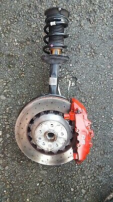 2017 Audi Rs3 8V Front Suspension Driver Side Leg Hub Driveshaft Sportback 5Dr