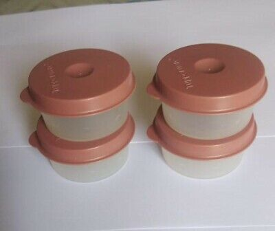 Tupperware Expression Smidgets Set of 4 in 2 Colors-New-Free Shipping