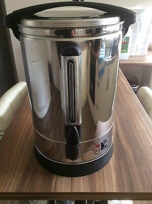 Stainless Steel 20l Tea Urn Electric Catering Hot Water Boiler Coffee 1500w