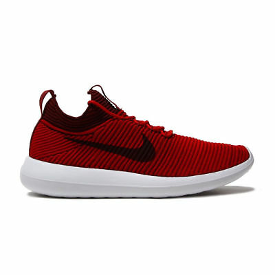 c30cf2c957f4a Nike Men s SZ 11.5 Roshe Two Flyknit V2 2 Red Running Shoes 918263-600