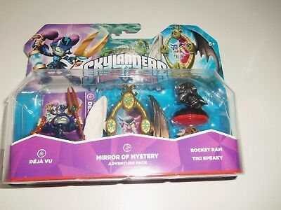 SUPER PACK lot SKYLANDERS  TRAP TEAM MIRROR OF MYSTERY    -- NEUF EN BOITE