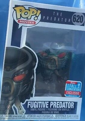 FUNKO POP Disney NYCC Fugitive PREDATOR EXCLUSIVE In Hand! Fall Convention Mint