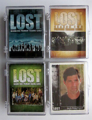 LOST TV Serie  - 4 x Trading Card Sets - Inkworks & Rittenhouse
