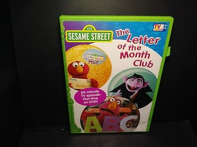 Sesame Street The Letter Of The Month Club.Sesame Street The Letter Of The Month Club By In Used