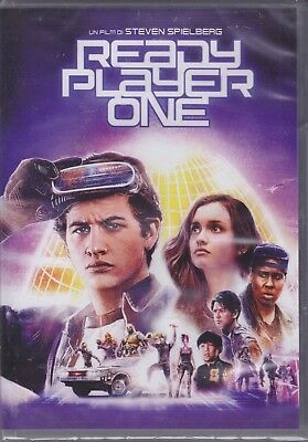 Dvd READY PLAYER ONE of Steven Spielberg new 2018