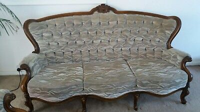 Impressive French 3 Seat Sofa