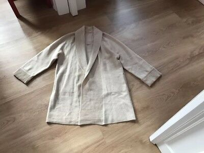 15fc4313c2 MARC O'POLO Pure Strickjacke Strickweste Strickmantel creme 36 S 38 M NEU