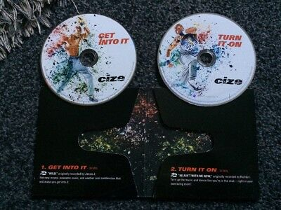 CIZE EXERCISE 2 Disc Workout Extra Get In To It And Turn It On