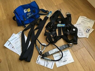 Safety Harness HSS SpanSet High Worker Kit XL Complete Unworn Rare Xtra Large**