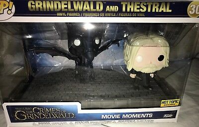 Funko Pop Fantastic Beasts Grindelwald and Thestral Movie Moment Hot Topic Excl