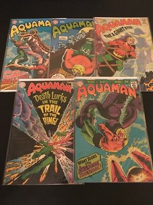 Silver Age Aquaman Lot! Great Books! Movie Coming!