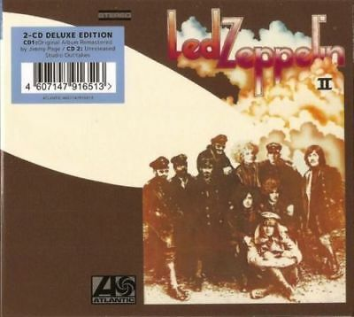 LED ZEPPELIN II (Remastered 2CD) Limited Edition (New)