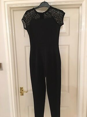 Gorgeous Girls Black Jumpsuit Age 12/13 Years