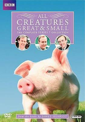 All Creatures Great  Small: The Complete Series 7 (DVD, 2010, 4-Disc Set) NEW
