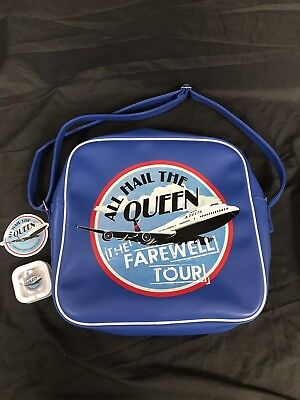 "Delta Airlines ""All Hail The Queen"" 747 Retirement Commerative Bag"