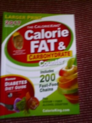 the calorie king calorie fat and carbohydrate counter 2018 book