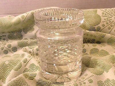 Waterford Crystal Castlemaine Jam/Jelly Condiment Jar