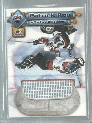 2000-01 Pacific In the Cage Net-Fusions #3 Patrick Roy (ref37289)