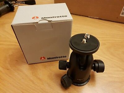 Manfrotto 498 Midi Ball Head - Tripod Camera DSLR Heavy Duty Ball Head
