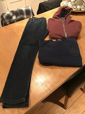 Boy's Next Bundle Age 14, jeans sweatshirt & hoodie excellent condition
