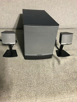 Bose Companion 3 Series II Computer Speakers Free S&H