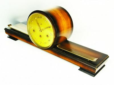 Art Deco Westminster Chiming Mantel Clock From  Emes Germany