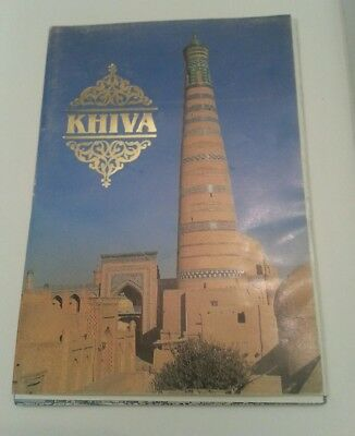 Khiva Uzbekistan set of 16 Photocards w/ folder 1999. Architectural Monuments
