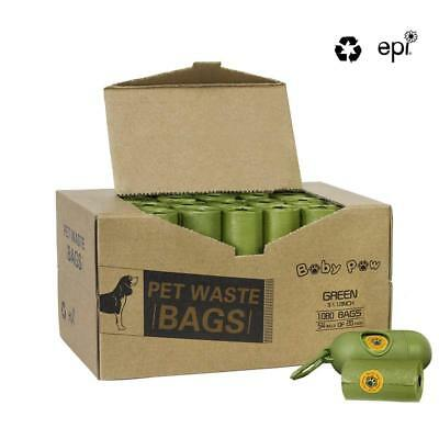 Pet Poop Bags 1080 Count 54 Rolls Dog Waste Bags Doggie Bags with Free Dispenser