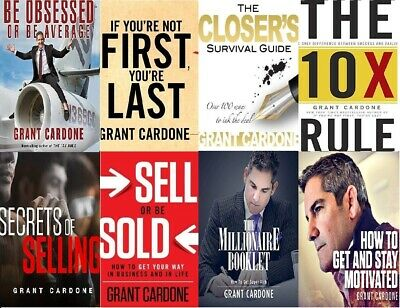 Audio Books By Grant Cardone (6 audio books)