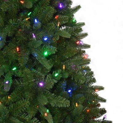 Home Accents Holiday 7.5' Pre-Lit Color Change LED Sierra Nevada Christmas  Tree - HOME ACCENTS HOLIDAY 7.5' Pre-Lit Color Change LED Sierra Nevada