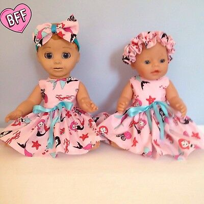 "17"" dolls Clothes for Luvabella and Baby Born Dolls. Handmade Designer Clothes."