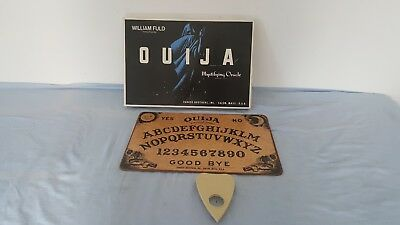Vintage William Fuld Ouija Talking Board with Box  1960's  Parker Brothers