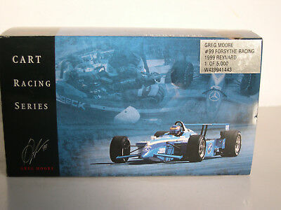 Indy Car Series 1999 Forsythe Racing Greg Moore Action1:43 Neu OVP (Limited)
