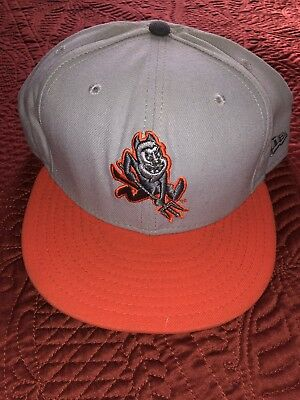 huge selection of 42a3c c8d77 New Era 59Fifty NCAA Arizona State Sun Devils Fitted Hat Cap Orange Gray  Size 8