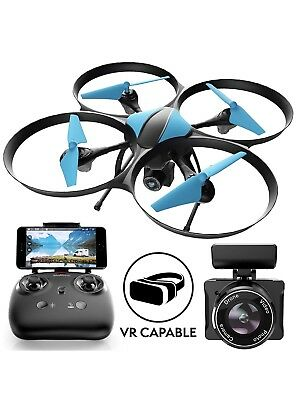 U49W RC Drone with HD Camera Live Video Hold Headless Mode Long Flight Time