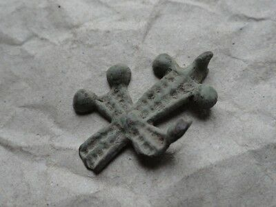 Anglo-Saxon Bronze Cross