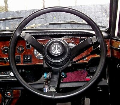Leather Steering Wheel Cover / Glove - Arrow Hiillman, Minx, Hunter, Gt, Gls.