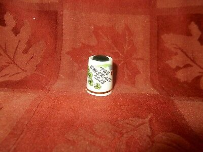 the emeral isle thimble with green gemstone by birchcroft