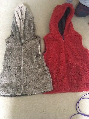 Mini Boden Berry Coloured Gillet Aged 5-6