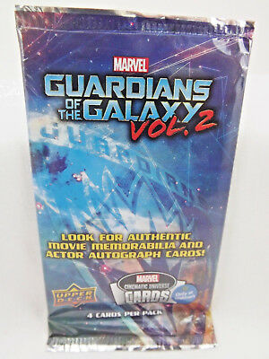 2016 Guardians Of The Galaxy Vol 2 Upper Deck Marvel Cards Collectible