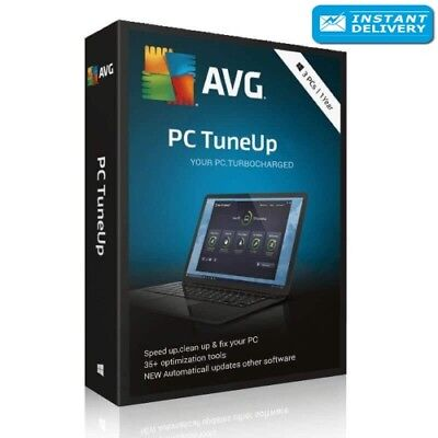 AVG PC Tuneup 2018 - 3 PCs LIFETIME License (Download + Key) Instant Delivery